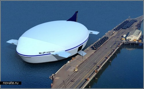 SkyFreighter. Проект дирижабля-амфибии от Millenium Airship