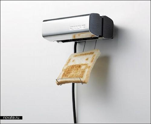 Тостер, работающий как принтер