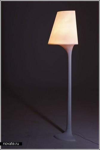 «Угловая» лампа