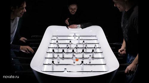 Проект настольного футбола от GRO design и Tim modelmakers