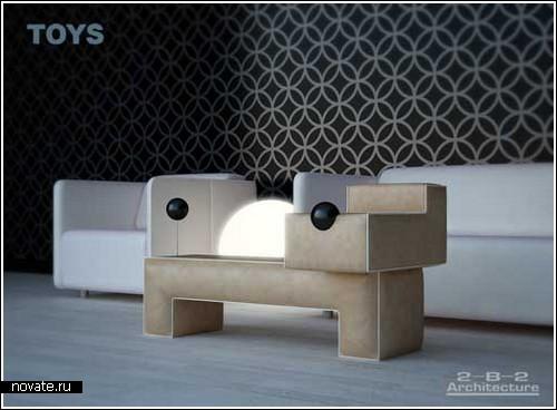 «Игрушечная» мебель 2-B-2 Architecture