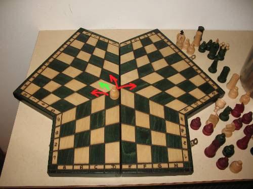 Шахматы «Три пути»