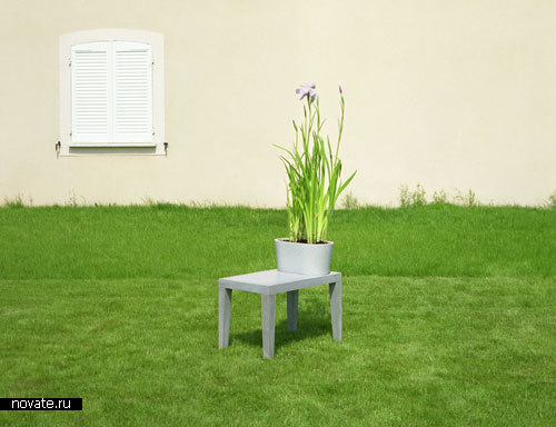 Мебель, совмещенная с цветочными горшками от 5.5 Designers