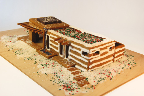 пряничный домик от Michelle Kauffman