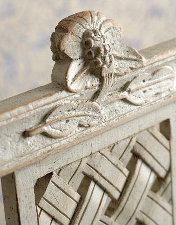 интерьер в стиле Gustavian