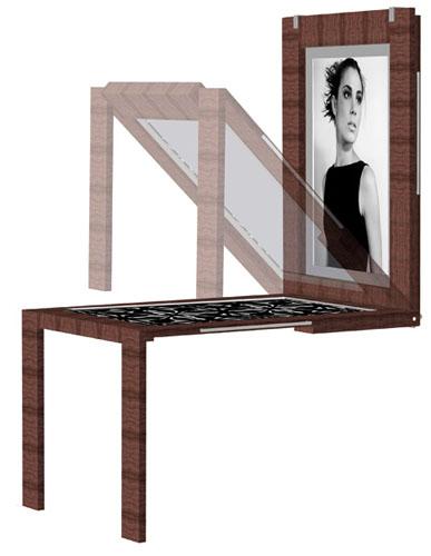 стол-портрет от Verena Lang