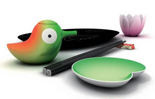 посуда для суши от Stefano Giovannoni