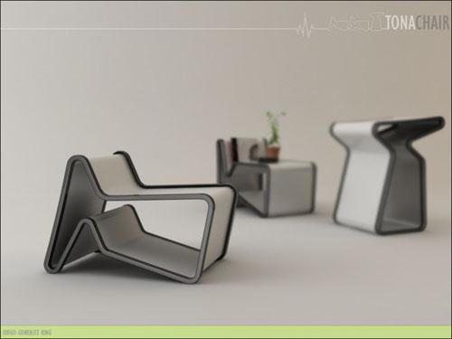 Многофункциональный стул tona