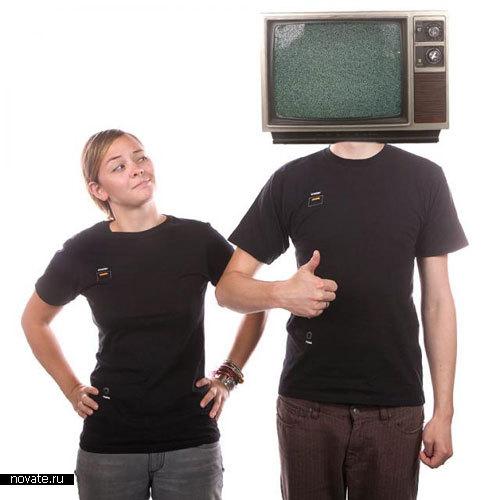 Аудио-видео футболка