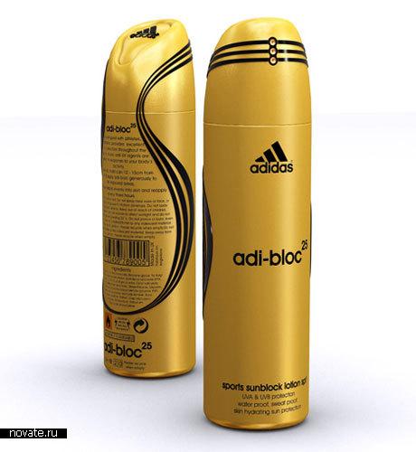 Крем для загара Adi-block от Adidas