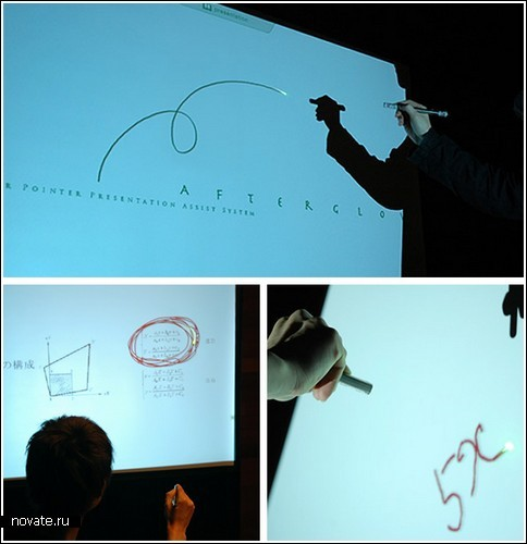 Указка-рисовалка для проектора