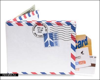 Вместительный и прочный бумажник