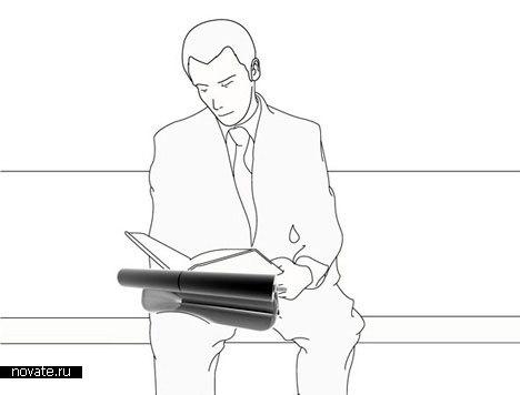 Подушка для ноутбука и блокнота «Airboard»