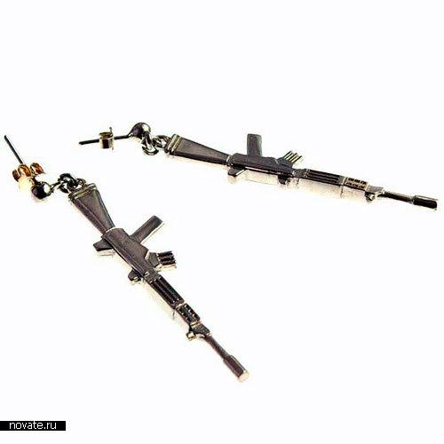 Сережки АК-47