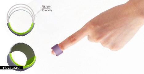 кольцо-будильник от Meng Fandi
