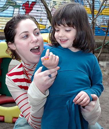 детские кольца в подарок