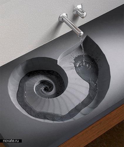 Раковина-лестница «Аммонит»