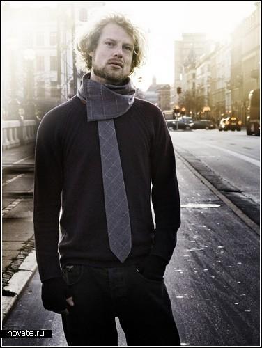 Намотать галстук или завязать шарф?