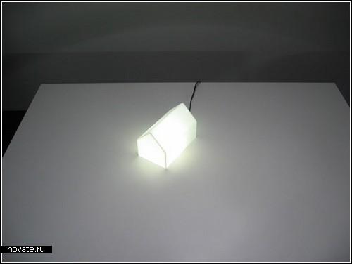 Лампа-домик