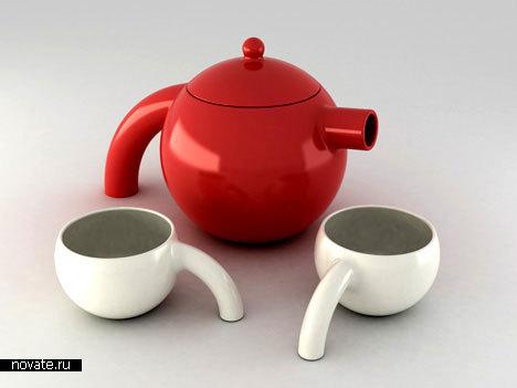 Чайный сервиз «Страус»