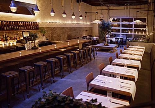 Интерьер интерьер ресторана «Public» от компании Avroko