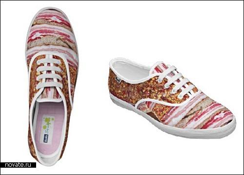 «Мясная» обувь