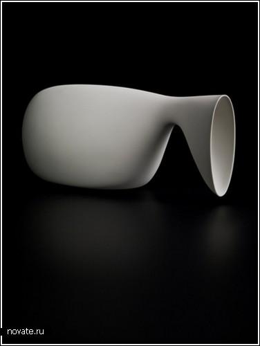 Странная посуда от Aldo Bakker