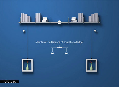 Полка Maintain The Balance of Your Knowledge! от Denis Oh