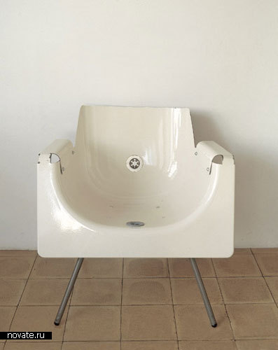 Ванна-стул от Reddish Studio