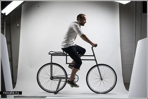 «Угловатый» велосипед BauBike