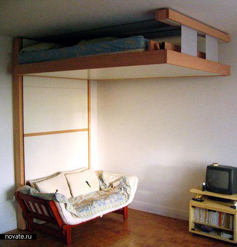 Многофункциональная кровать BedUP от Decadrages