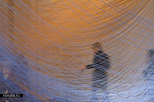 Художественная инсталляция «Волна тумана»