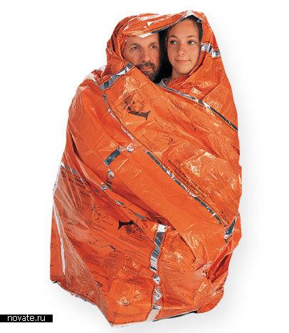 Спасительный оранжевый плащ для двоих