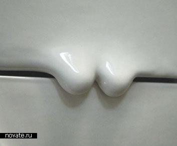 Плитка с завитушками для ванной