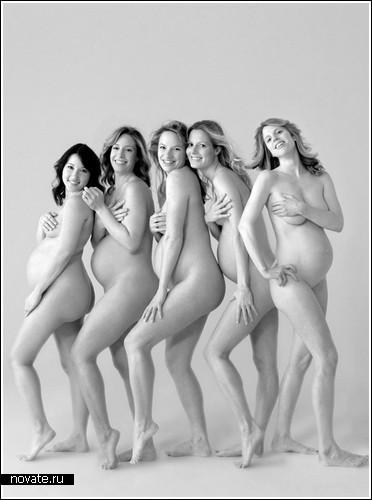 ню фото беременных женщин