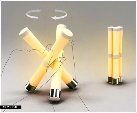Потри лампу, и свет появится