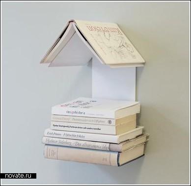 Полка «Гнездо читателей»