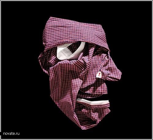 Рисование одеждой от Bela Borsodi