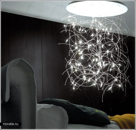 Светящийся хаос под потолком