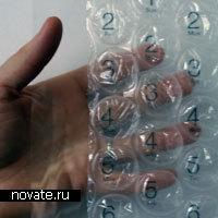 Настенный календарь с пузырьками