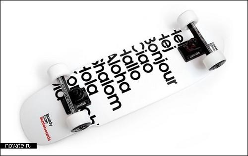 «Приветливый» скейт от Antonio Carusone