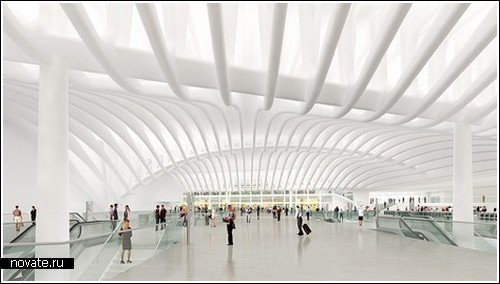Проект транспортного узла от Santiago Calatrava