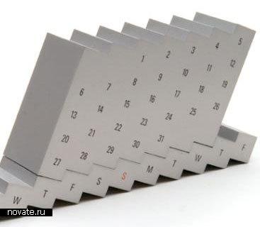 Календарь-лесенка
