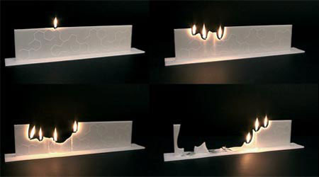 Свеча Bravit Candle от Christoph Van Bommel
