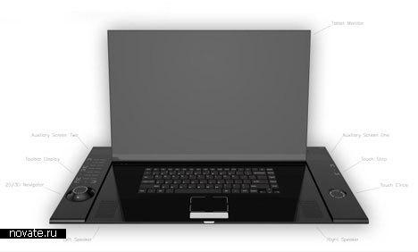 Компьютер для дизайнера от Kyle Cherry