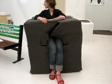 стул-ловушка от Bas Kools