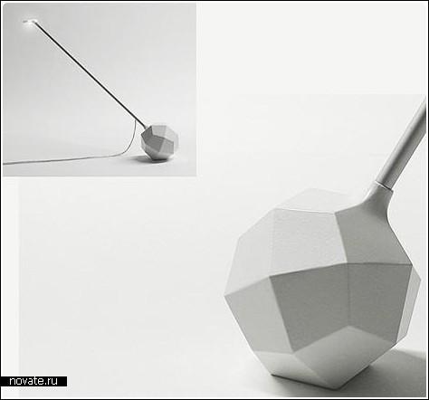 Непропорциональная лампа «Карат»