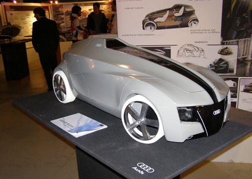 Автомобиль фирмы Аudi от Кемала Куруса (Cemal Kurus)