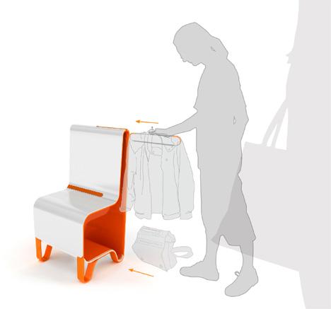 стул-гардероб от Erohina Yulia