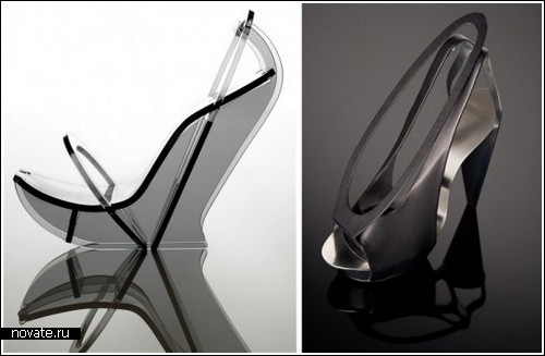 Архитектурная обувь от Chau Har Lee